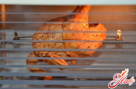 рецепт куры гриль в духовке