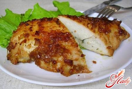 вкусная курица в духовке в фольге