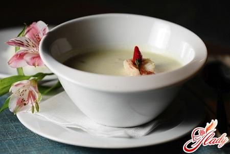 сливочный суп с морепродуктами рецепт