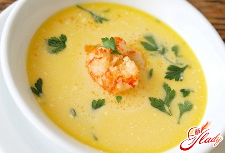 сырный крем суп рецепт