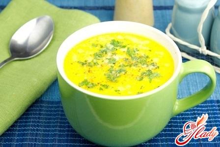вкусный сырный суп с фрикадельками рецепт