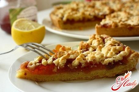 рецепт тертого пирога с яблоками