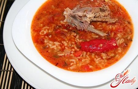 рецепт супа харчо классический