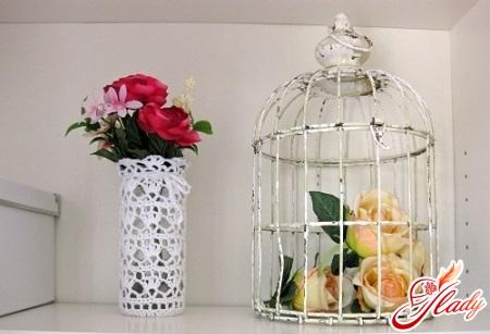 ваза из банок своими руками