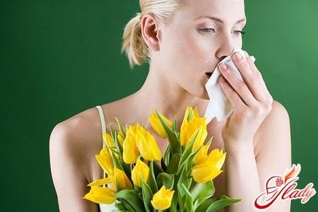 симптомы аллергической астмы