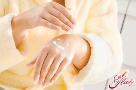 лечение аллергии специальным кремом