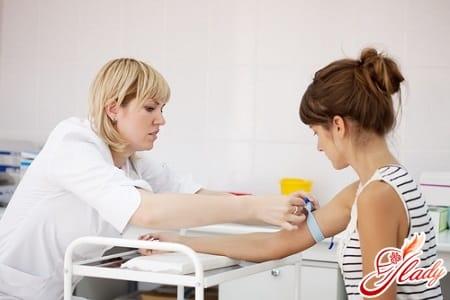 сдача крови на анализы