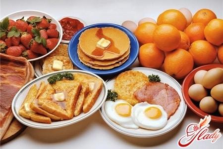 продукты при белково углеводной диете