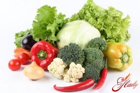 полезные овощи при бессолевой диете