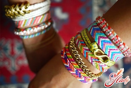 красивые браслеты из ниток своими руками
