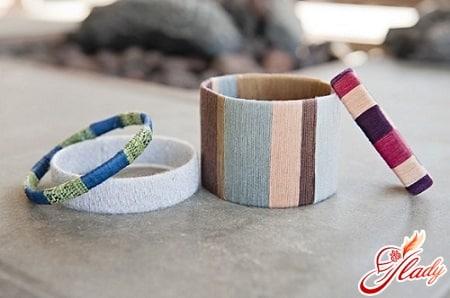 браслеты с вертикальным плетением