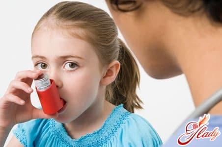 применение средств против астмы