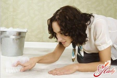устранение запаха собачьей мочи хлоркой