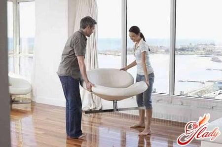 правильная расстановка мебели по фен шуй