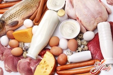 продукты для диеты с высоким содержанием белка