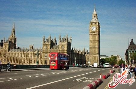 знаменитые достопримечательности лондона