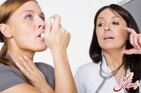 правильное лечение астмы
