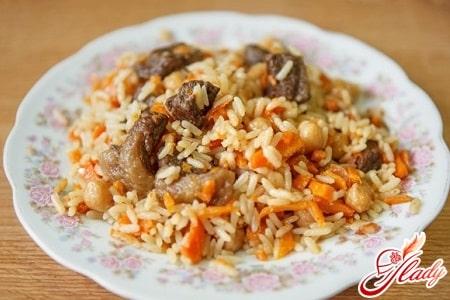 узбекский рецепт плова с говядиной
