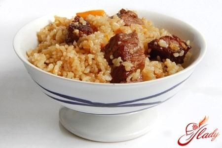 ферганский рецепт вкусного плова с говядиной