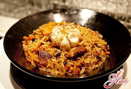 быстрый рецепт узбекского плова со свининой