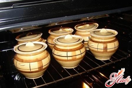 горчошки с пловом в духовке