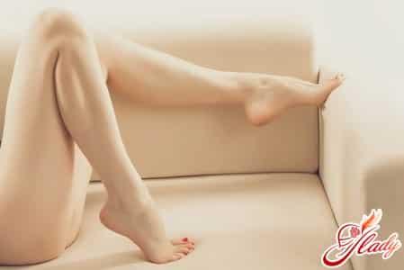 уход за ногами после бритья