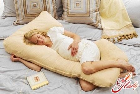 удобная поза сна во время беременности