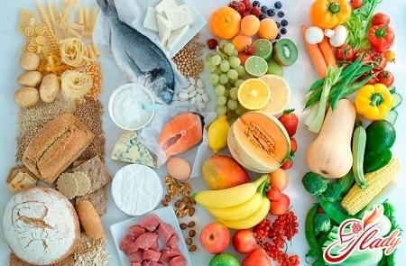 продукты для раздельного питания