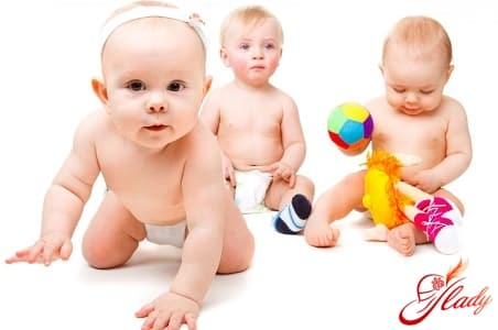 правильное развитие ребенка до года