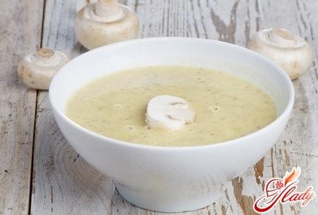 крем суп при гастрите