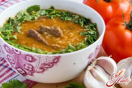 рецепт харчо по грузински