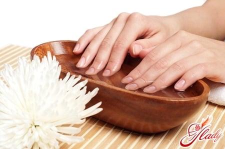ванночка для роста ногтей