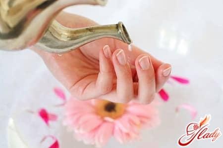 солевая ванночка для роста ногтей