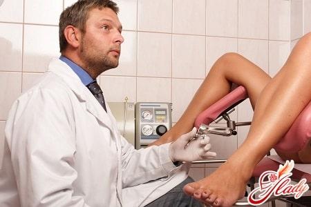 на осмотре у врача