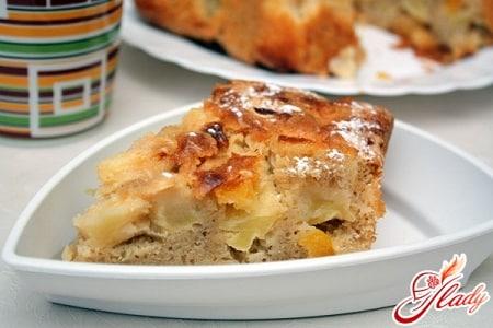 яблочный пирог на скорую руку