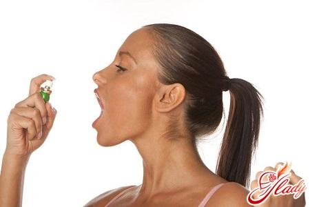неприятный запах ацетона изо рта