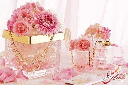 традиции розовой свадьбы