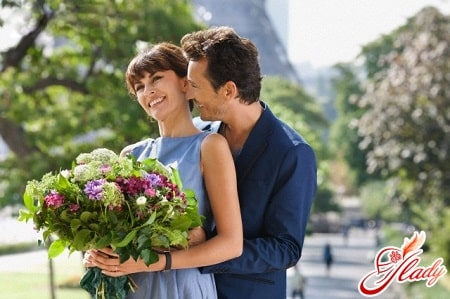 романтическое поздравление жены