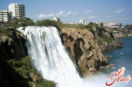 водопады реки дюден