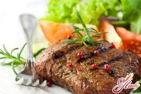 рецепт приготовления мяса при белковой диете