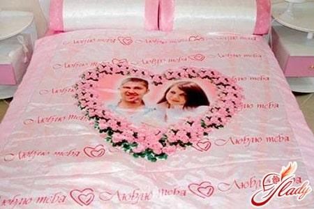 постельное белье в подарок на ситцевую свадьбу
