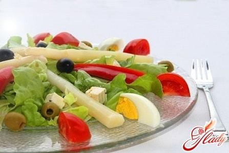 салат при диете протасова