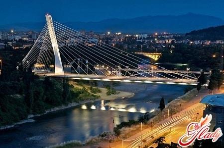 мост тысячилетия в подгорице