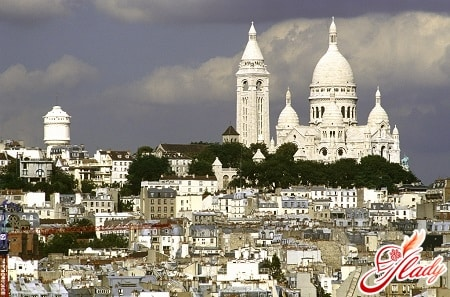 монмартр или холм мучеников в париже