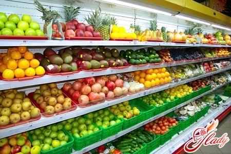 свежие фрукты желательно покупать в провернных местах