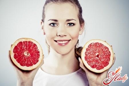 Худеем на грейпфрутовой диете