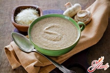 рецепт грибного супа в мультиварке