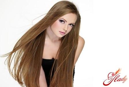 здоровые длинные волосы