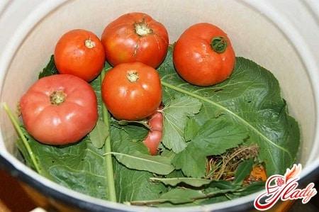 подготовка огурцов и помидоро к закрутке