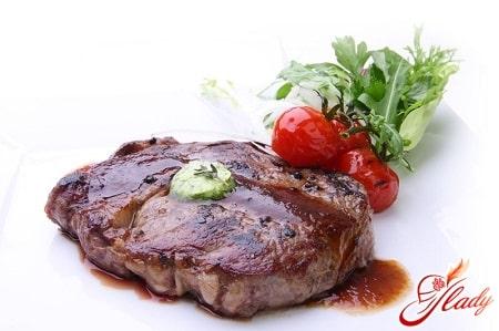 рецепт приготовления стейка из говядины